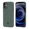 Чехол PITAKA MagEz Case для iPhone 12  (6.1'') Black/Yellow Twill
