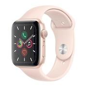 Часы Apple Watch 5 44mm Gold Aluminium Pink Sport A2093
