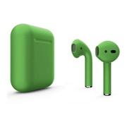 Беспроводные наушники Apple AirPods 2 зеленые