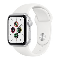 Apple Watch SE 40mm Silver Aluminium Sport Band