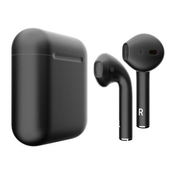 Слайд Беспроводные наушники Apple AirPods 2 черные