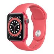 Apple Watch 6 40mm Red Aluminium Sport Band