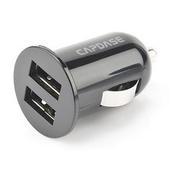 Capdase Dual USB Car Charger Pico 2.1Amp - Titanium