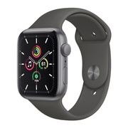 Apple Watch SE 44mm Black Aluminium Sport Band