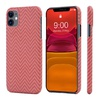 Чехол PITAKA MagEz Case для iPhone 11  (6.1'') Red/Orange Herringbone