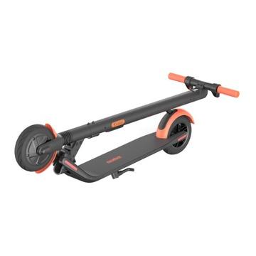 Слайд Электросамокат Ninebot KickScooter ES1L, черный/оранжевый