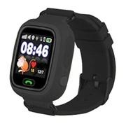 Детские часы Smart Baby Watch Q-80 - Черные