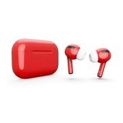 Беспроводные наушники Apple AirPods Pro красные