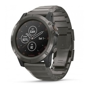 Часы Garmin Fenix 5X Plus Sapphire титановый DLC