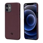 Чехол PITAKA MagEz Case для iPhone 12  (6.1'') Black/Red Plain