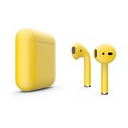 Беспроводные наушники Apple AirPods 2 желтые