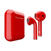 Беспроводные наушники Apple AirPods 2 красные