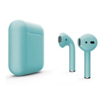 Слайд Беспроводные наушники Apple AirPods 2 тиффани