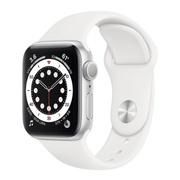 Apple Watch 6 40mm Silver Aluminium Sport Band