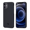Чехол PITAKA MagEz Case для iPhone 12 (6.1'') Black/Grey Twill