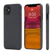 Чехол PITAKA MagEz Case для iPhone 11 (6.1'') Black/Grey Twill