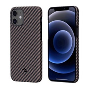 Чехол PITAKA MagEz Case для iPhone 12  (6.1'') Black/Rose Gold Twill