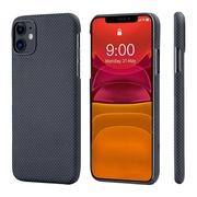 Чехол PITAKA MagEz Case для iPhone 11  (6.1'') Black/Grey Plain