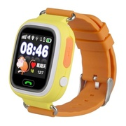 Детские часы Smart Baby Watch Q-80 - Желтые