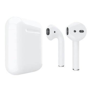 Слайд Беспроводные наушники Apple AirPods